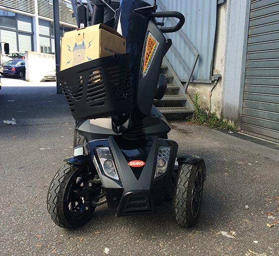 scooter pantera para minusvalidos segunda mano