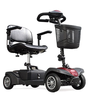 stannah mini scooter movilidad desmontable