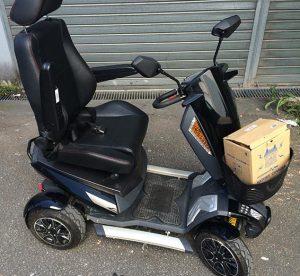 vehiculo scooter para minusvalidos