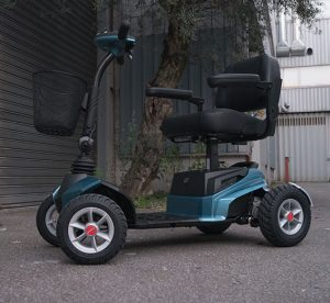 Stannah Flex scooter electrico de movilidad reducida