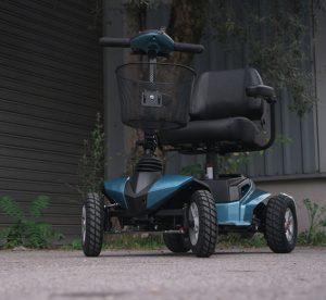 Stannah Flex scooter electrico desmontable e plegable