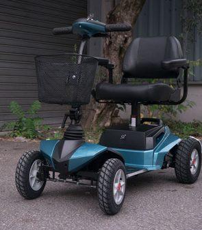 Stannah Flex scooter movilidade reducida