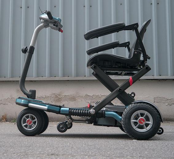 Stannah Viaje scooter movilidad desmontable e plegable