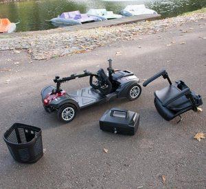 scooter para minusvalidos de segunda mano desmontable o plegable
