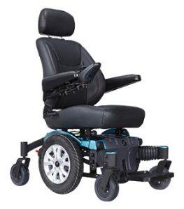silla de ruedas confortable