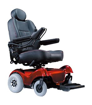 silla de ruedas desmontable confortable