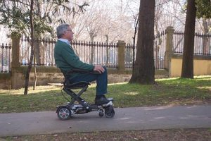 silla de ruedas electrica viaje